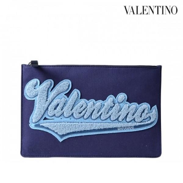 Valentino 발렌티노 가라바니 로고패치 클러치 PY2P0483GVR RED/NAVY_리씽크팀
