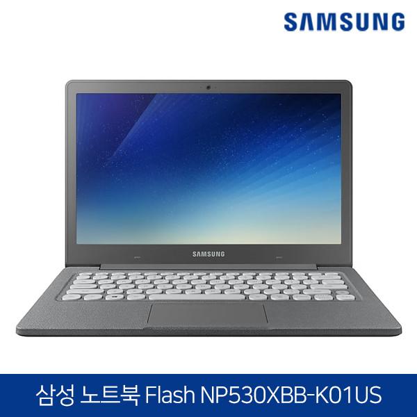 [타임세일~07/6까지]  삼성 무소음 노트북 Flash NP530XBB 신품수준 (인텔N5000/4G/E.MMC 64G/인텔UHD 605/13.3인치/윈도우10/영문자판)