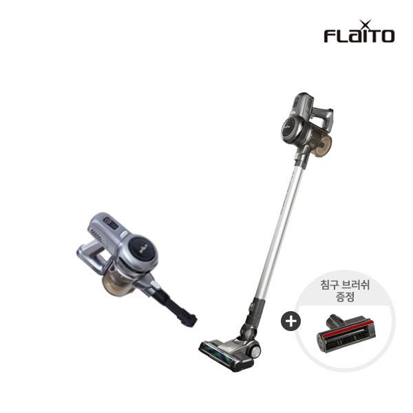 다이슨 보다 강력한 듀얼 BLDC모터 탑재 17Kpa 흡입력 플라이토 엣지슬림 S9 (200W/고성능헤파필터/저소음설계/듀얼모터/1.9Kg) + 선착순 침구브러쉬증정
