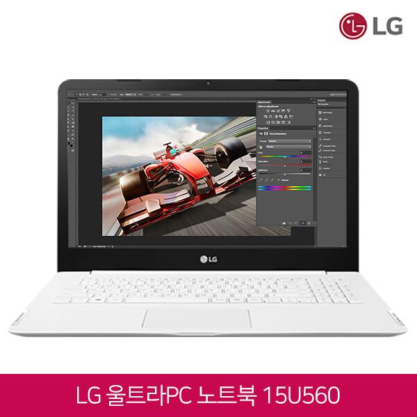 LG 울트라PC 15U560  (코어i5-6200U/램8G/SSD128G + HDD500G/인텔HD520/15.6인치FHD 1920x1080/윈도우10)