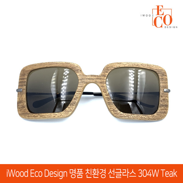 iWood Eco Design 아이우드 에코디자인 명품 친환경 선글라스 304W TEAK