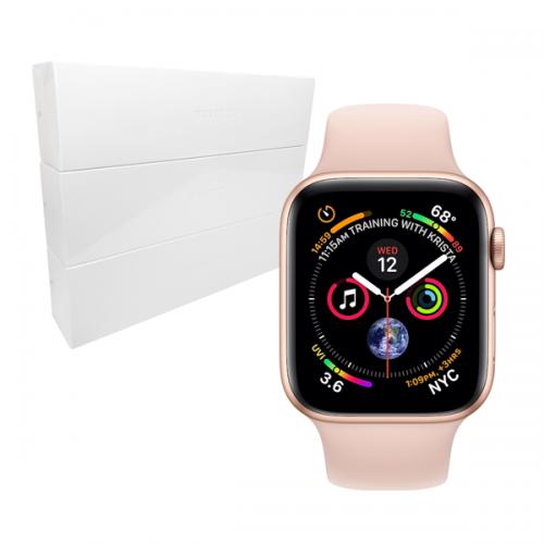 전화통화가능! [Apple] Watch 애플워치 시리즈4 GPS + 셀룰러모델 (색상:White,Pink 선택가능/대화면 44mm)