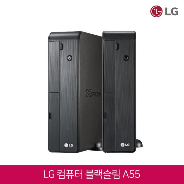 LG 컴퓨터 A55 블랙슬림 (코어i5-2400/램8G/SSD128G/DVD멀티/인텔HD그래픽/윈도우7)