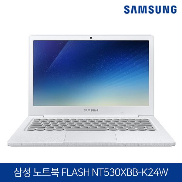 [타임세일~06/2까지]  삼성 노트북 FLASH NT530XBB-K24W (인텔 펜티엄실버N5000/램4G/SSD128G/인텔UHD605/13.3인치FHD 1920x1080/윈도우10)