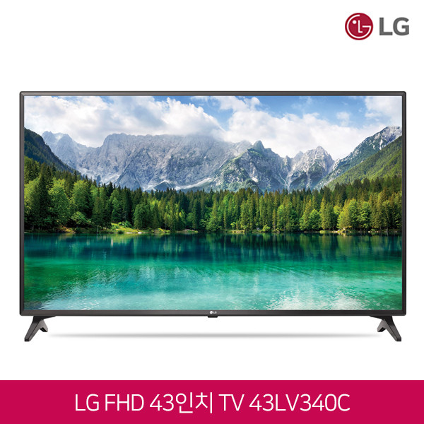 LG전자 43인치 FHD TV 43LV340C