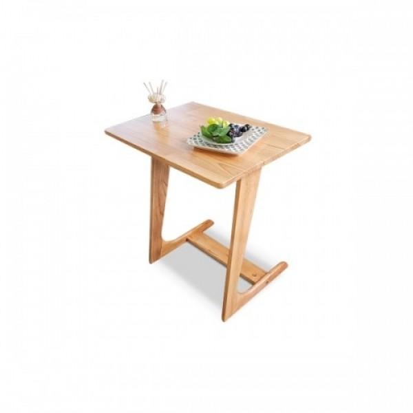 베스트 판매상품! 오로라 원목 소파 사이드 테이블 내츄럴 색상