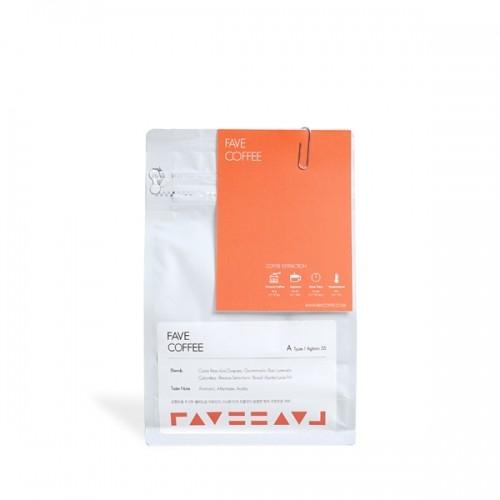 [FAVE COFFEE] 페이브커피 A타입 블렌드 200g(브라운슈가,구운아몬드,밀크초롤릿)