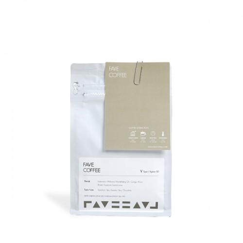 [FAVE COFFEE] 페이브커피 V타입 블렌드 200g(스윗카라멜,베리초콜릿,구운 맥아)