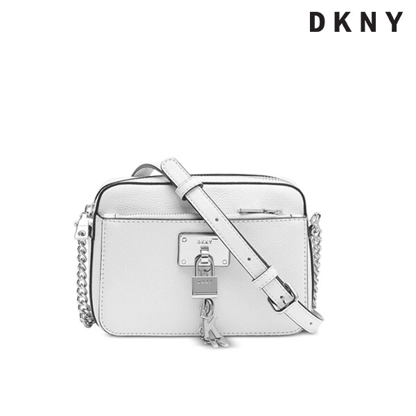 DKNY 디케이엔와이 ELISSA Top-zip Pebble Leather Mini Crossbody Bag 미니 크로스백