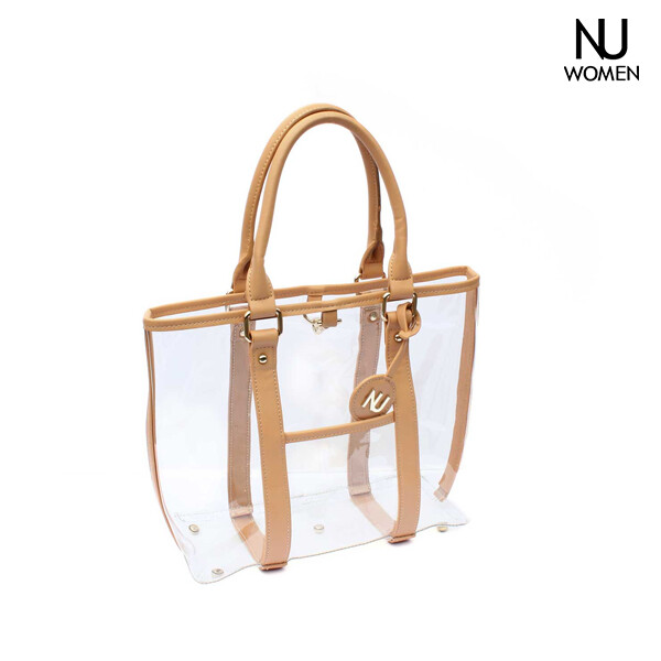 NU Women 누우먼 Clear Handbags & Purses tote 토트백