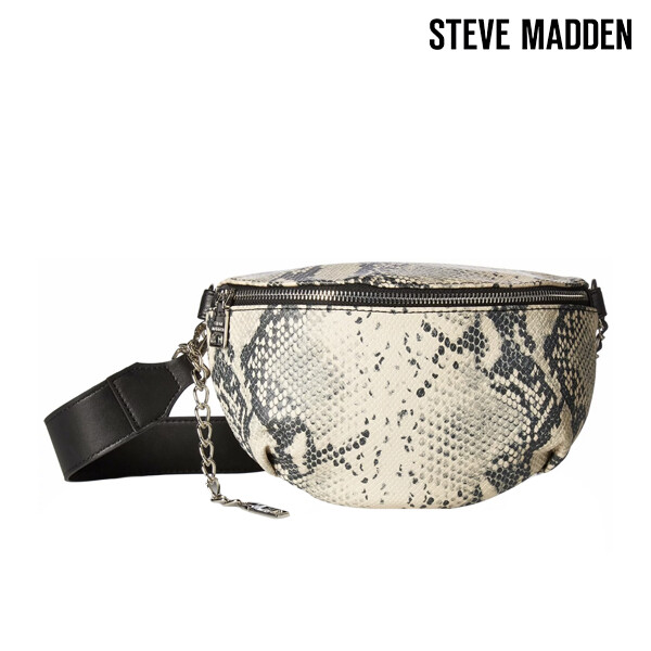 Steve Madden 스티브 매든 Bmacy Natural Snake Belt Bag 숄더백