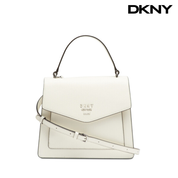 DKNY 디케이엔와이 Whitney Top-Handle Satchel Bag 토트백 (White)