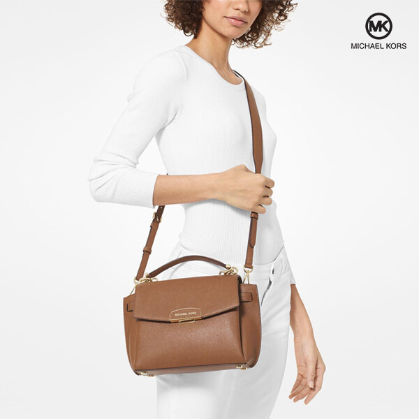 Michael Kors 마이클 코어스 Rochelle Medium Saffiano Leather Satchel 크로스백
