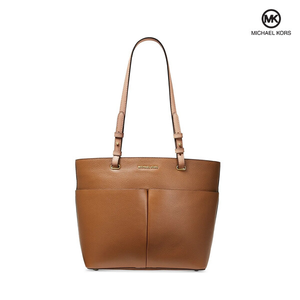 Michael Kors 마이클 코어스 Bedford Pebble Leather Pocket Tote Acorn 토트백