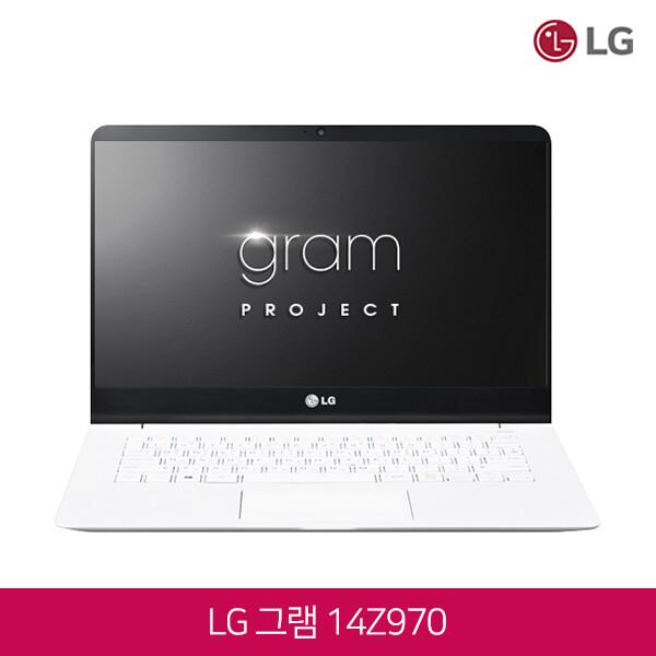 LG 올데이그램 14Z970-GR3DK (코어i3-7100U/램8G/SSD128G/인텔HD620/14인치FHD 1920X1080/윈도우10)