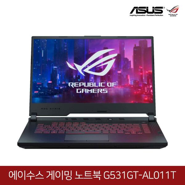 ASUS ROG 게이밍노트북 G531GT-AL011T (코어i7-9750H/램16G/SSD128G + HDD1TB/지포스GTX1650-4G/15.6인치FHD 1920x1080/윈도우10)