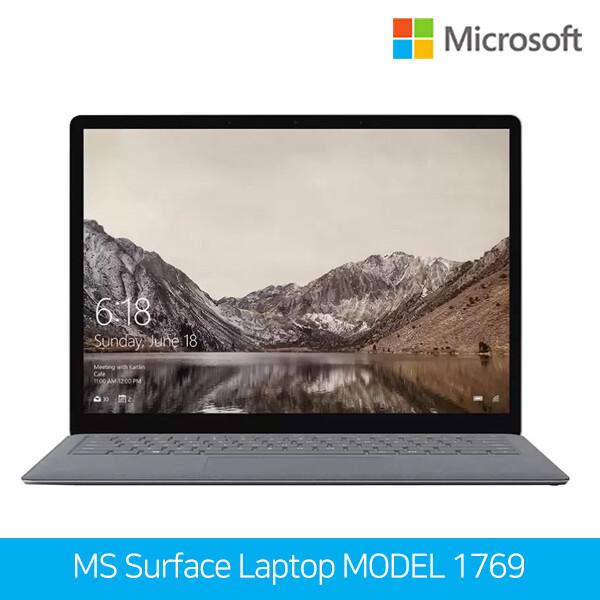마이크로소프트 서피스 랩탑 MODEL 1769 (코어i5-7200U/램4G/SSD128G/인텔HD620/13.5인치 2256x1504/윈도우10/영문자판)