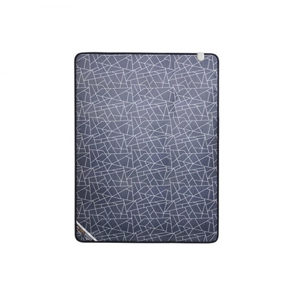 한일의료기 북유럽풍 클래식 히팅매트 탠그램 블루-더블(140x195cm)