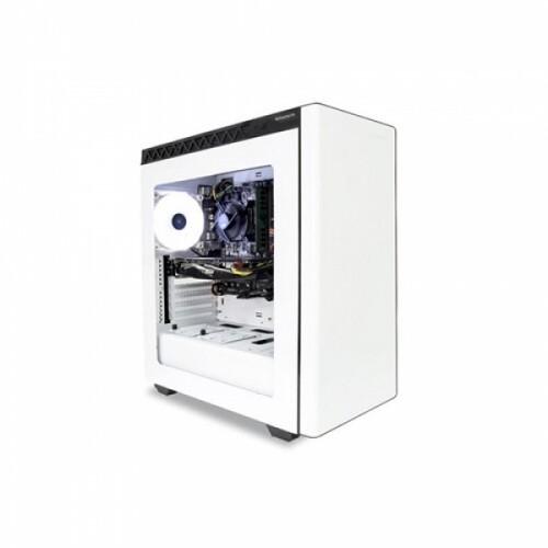 [케이스교체/실물사진 첨부] 한성컴퓨터 게이밍 데스크탑 BossMonster DX4 8405 White (8세대 코어i5,WIN미포함,8GB,120GB SSD,GTX1050)