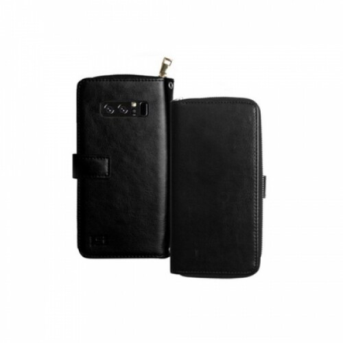니즈웰 클래식지퍼 다이어리 핸드폰케이스 갤럭시A6플러스 (A605/블랙)