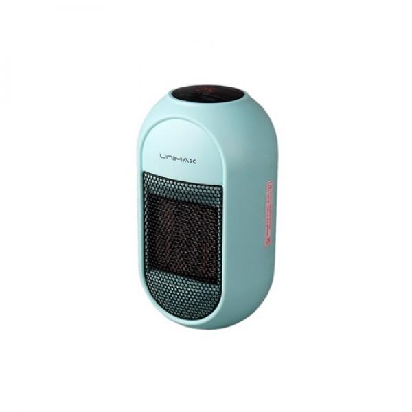 유니맥스 플러그인 전기히터 미니온풍기 UMH-405BL (블루)