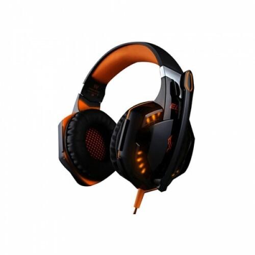 펀타스틱 고음질 LED라이트 프로 게이밍 헤드셋 G2000 정품 (오렌지)