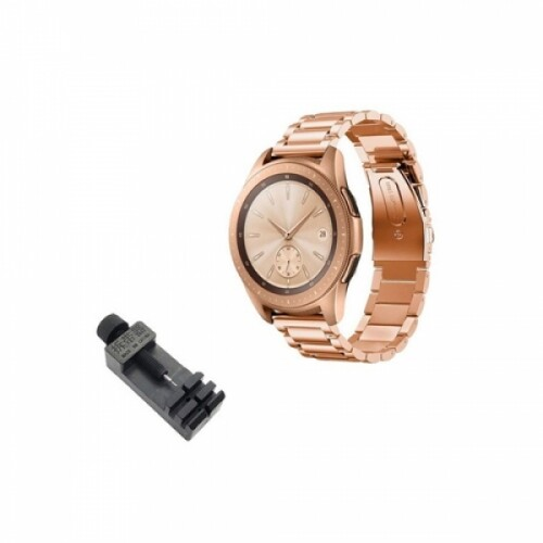 BC 갤럭시워치 메탈시계줄 골드 42mm(20mm호환) + 시계줄공구