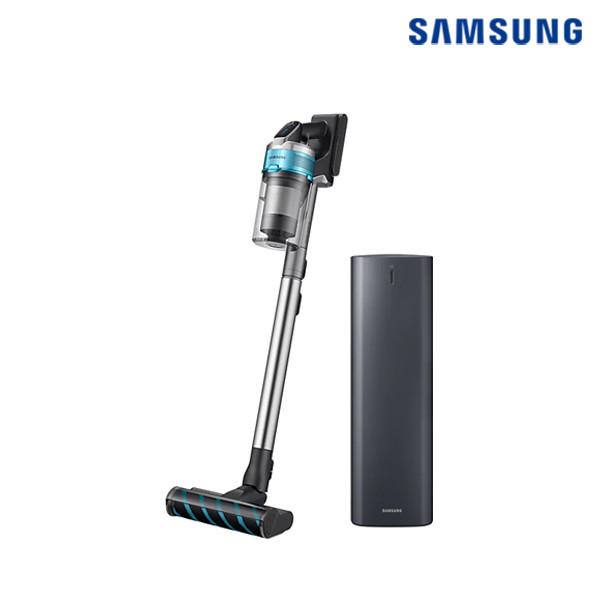 삼성 프리미엄 무선청소기 제트 200W + 제트용 청정스테이션 패키지 VS20T9279S6CS (바디 : 티탄 / 포인트 : 민트)