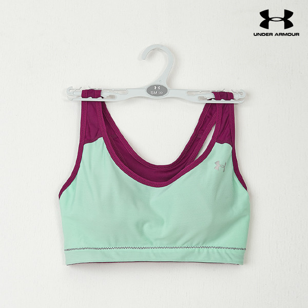 언더아머 여성 브라탑 UA WORKOUT BRA II C/D SEASON(7color