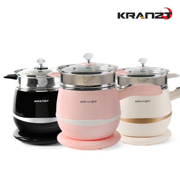 요리가 즐거워지는~ 클란츠 멀티쿠커 KRZ-1009 (블랙/핑크/아이보리)