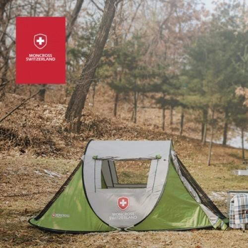 스위스 몽크로스 원터치 텐트 3~4인용