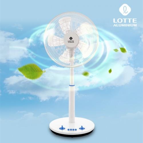 시원한 바람 롯데 블루 선풍기 LT-EF1S