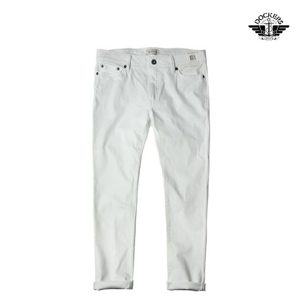 LEVI'S Dockers 리바이스 다커스 엘라스틴진 Fix Skinny Jeans white denim