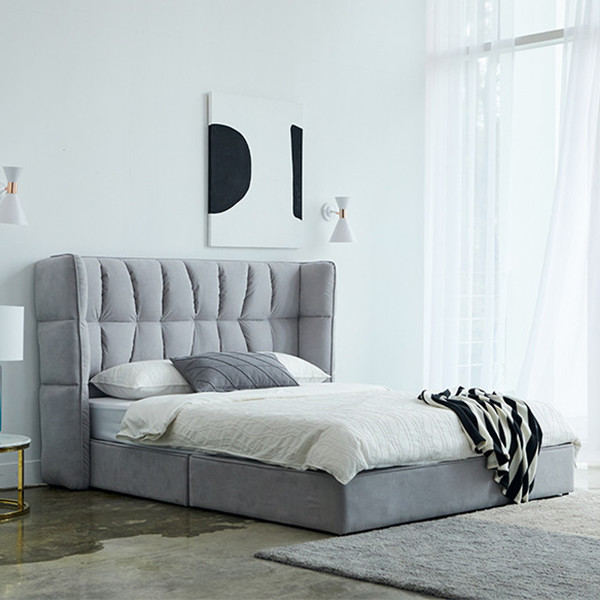트라움 아쿠아텍스 저상형 침대 프레임 Q/K 겸용