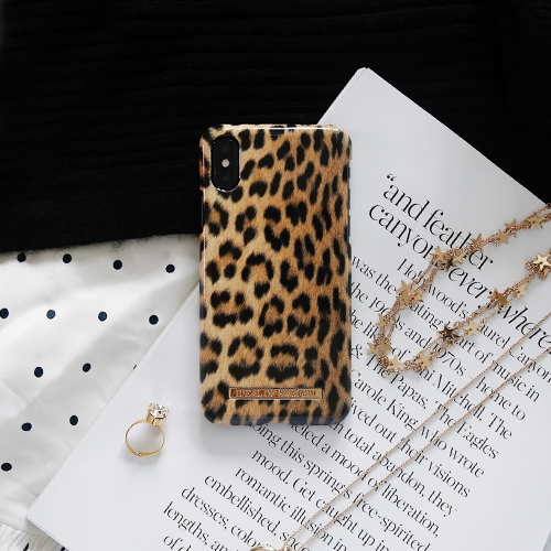[iDEAL OF SWEDEN] FASHION CASE WILD LEOPARD IPHONE X