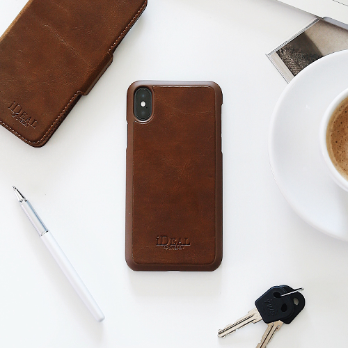 [iDEAL OF SWEDEN] COMO CASE IPHONE X/XS/XS MAX BROWN/BLACK