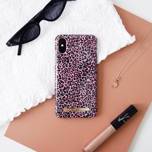 [iDEAL OF SWEDEN] FASHION CASE S/S19 LUSH LEOPARD IPHONE