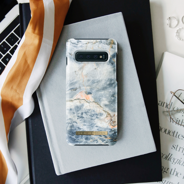 [iDEAL OF SWEDEN] FASHION CASE OCEAN MARBLE SAMSUNG