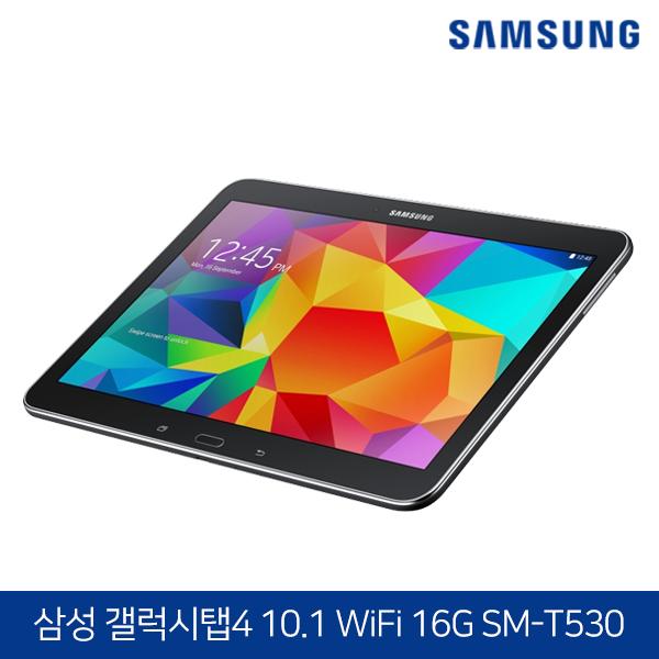 삼성전자 갤럭시탭4 10.1 WiFi 16G SM-T530 블랙 (쿼드코어/블루투스4.0/10.1인치 해상도 1280*800)