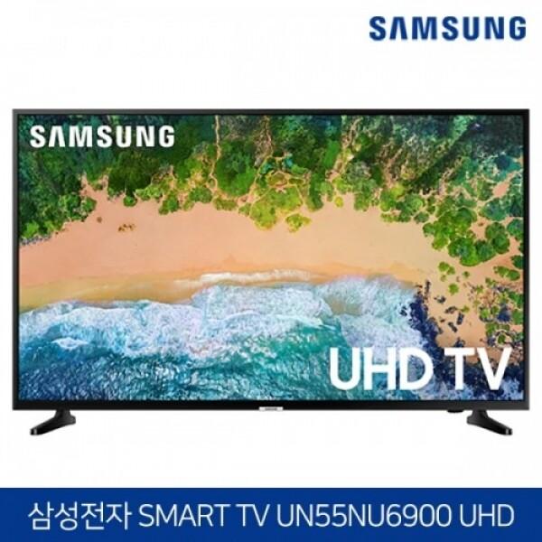 삼성 55인치 새것같은 무결점리퍼 4K HDR UHD 스마트TV 시리즈6 UN55NU6900