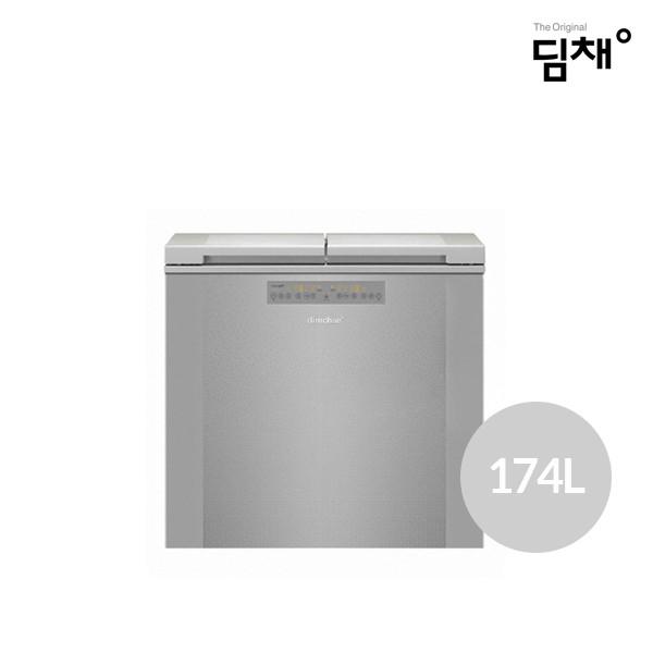[타임세일~08/5까지]  2020년형 위니아딤채 김치냉장고 BDL18DETRSS (174L/에너지효율2등급/냉장전용)