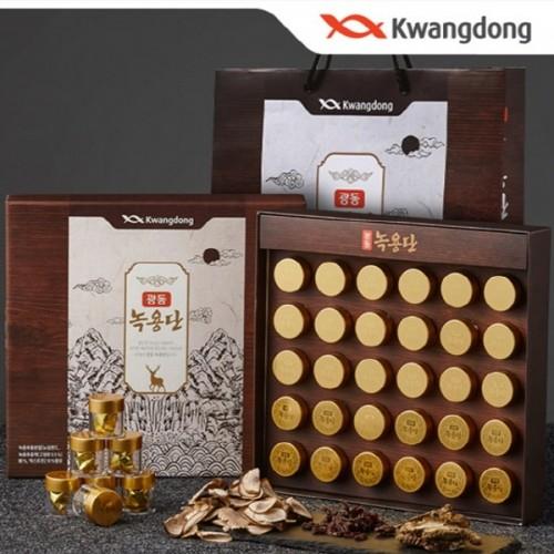 광동제약 광동 녹용단 (3.75g x 30환) + 쇼핑백 효도 상품 강력 추천!