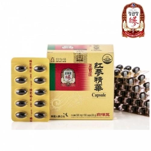 정관장  KGC 홍삼정화캡슐 100caps x 2box